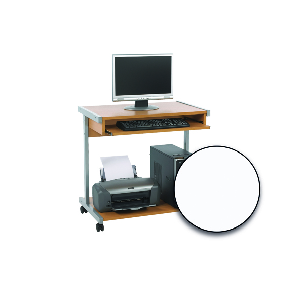 FF Computer Stand 800mm White