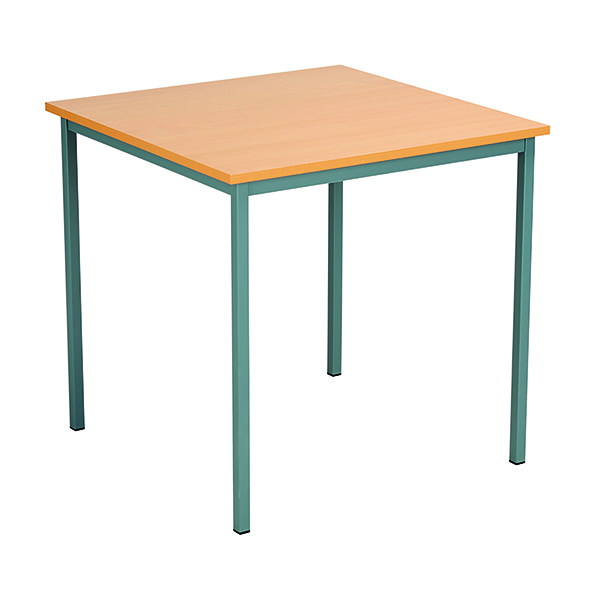FF Serrion Square Table 750mm Beech