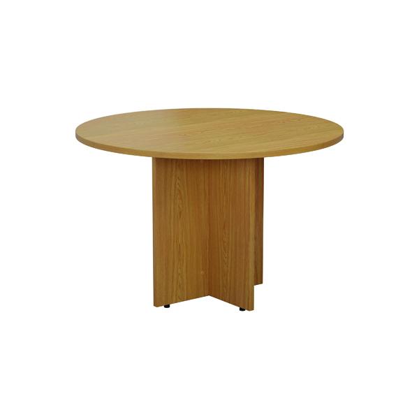FF Circular Table Top 1100mm Nova Oak