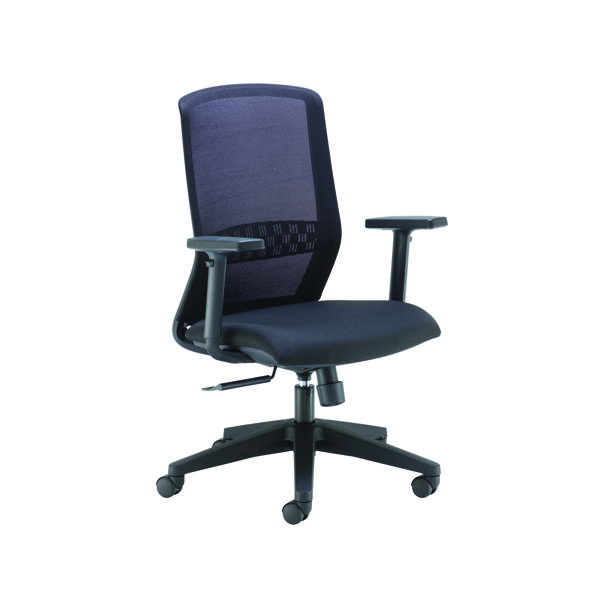 FF Arista H/Bck Exec Mesh Chair Blk