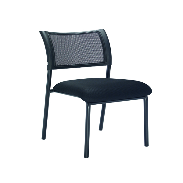 FF Jemini Mesh Back Side Chair Blk