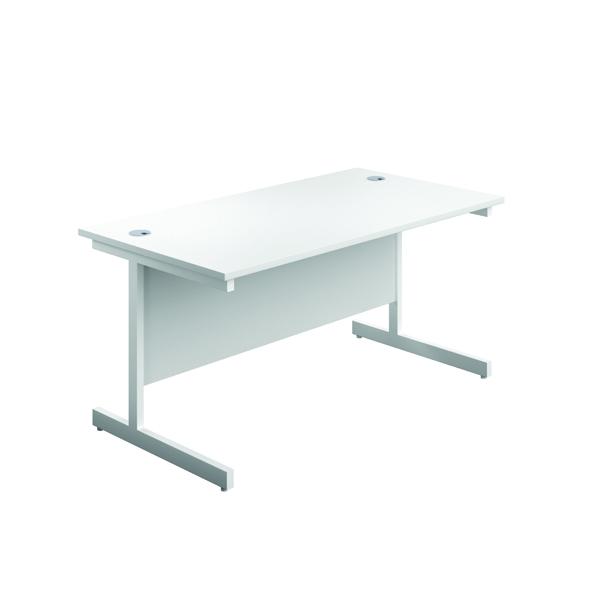 FR First 1200 Rectangular Desk White