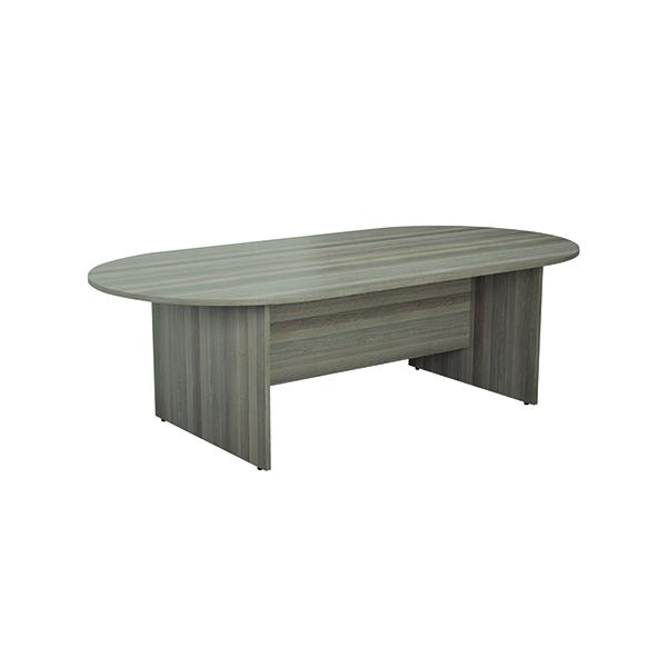 FF Jemini Meeting Table 2400W G/Oak