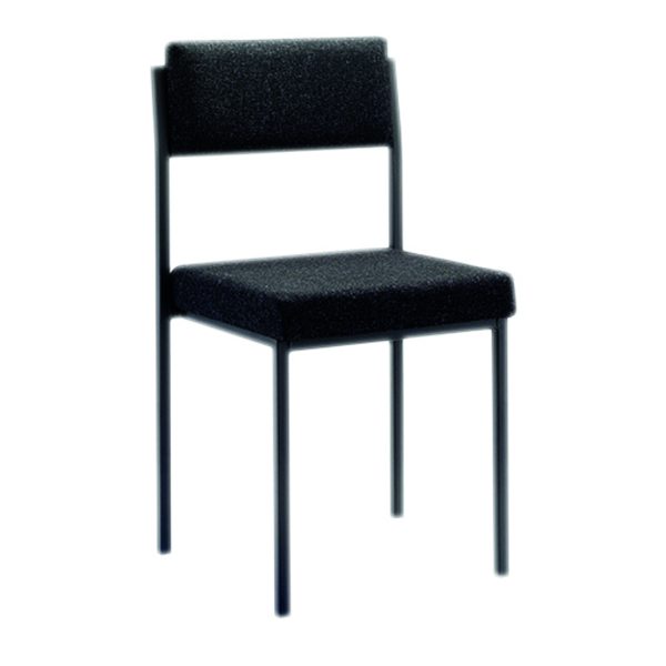 FF FIRST STACKING CHAIR CHARCOAL