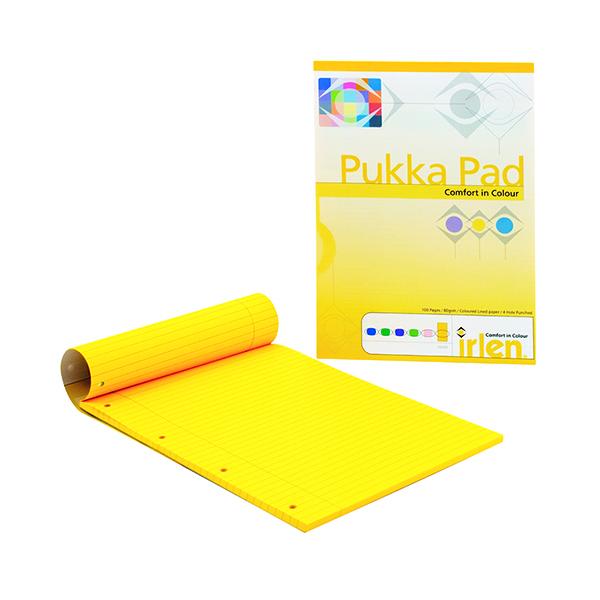 Pukka A4 Refill Pad Paper Gold