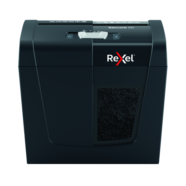 Rexel Blk/Silv Alpha Cross-Cut Shredder