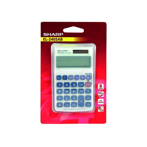 Sharp EL240L Handheld Calulator