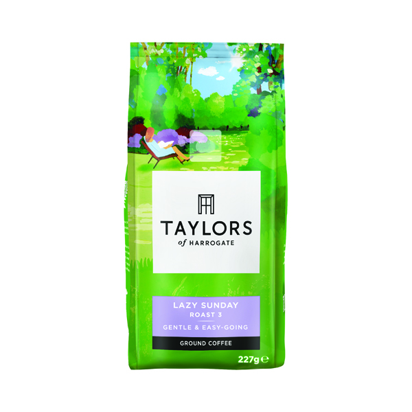 Taylors Lazy Sunday Grd Coffee 227g