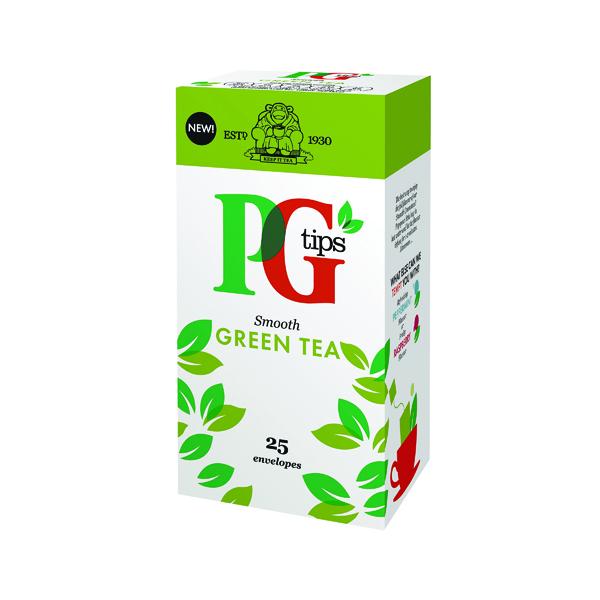 PG Tips Green Tea Envelope Pk25